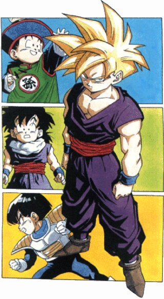 Gohan At Diffrent Ages.jpg