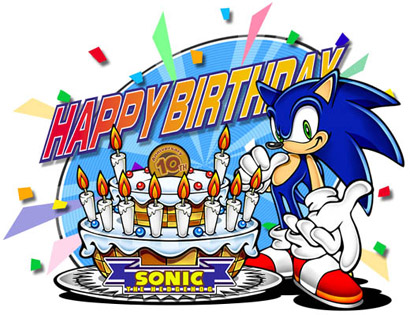 Happy 10th Sonic!