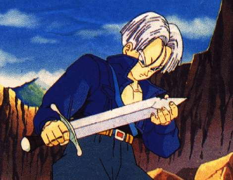 Trunks Studying His Sword.jpg