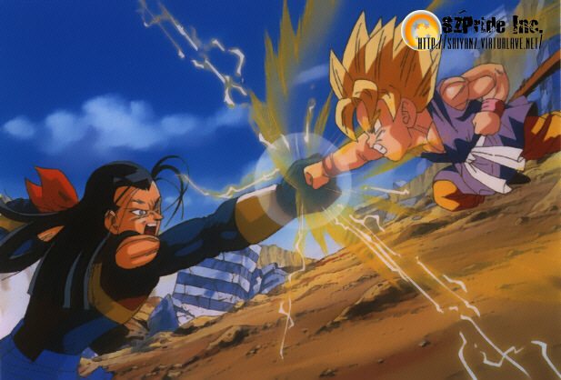 Young SSJ Goku Vs. Super 17.jpg